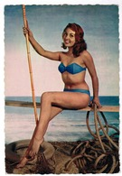Baadster, Baigneuse Sur La Plage, Pin-up (pk52953) - Pin-Ups