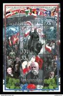 BF 2018 : 100 Ans Grande Guerre Lutte Pour L'indépendance 1918 : MASARYK Et Statue équestre De Saint Venceslas - Blocks & Sheetlets