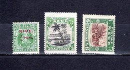 Niue   1911-20  .   Y&T  Nº    7-26-30 - Niue