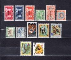 Niue   1937-71  .   Y&T  Nº    59/61-76-78-80/81-83-106-125/127-342 - Niue