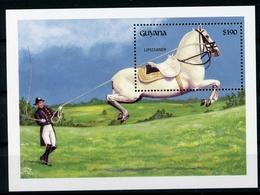 Guyana MiNr. Block 200 Postfrisch MNH Pferde (Haus19 - Guyane (1966-...)