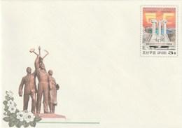 Entero Postal Postal Stationery Entiers-postaux - 2005 The 60th Anniversary Of Korean Workers' Party - Corea Del Norte