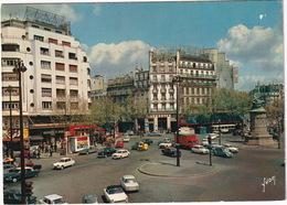 Paris: PEUGEOT 404 CABRIOLET, CITROËN DS, AMI 6,2CV, SIMCA 1000, RENAULT 4, GOELETTE FOURGON, PIAGGIO APE - Place Clichy - Toerisme