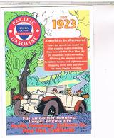 PUBICITE  CPM   GASOLINE  PACIFIC  1923 - Pubblicitari