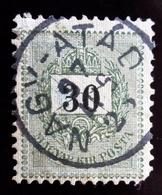 1874 Hongrie 12 Valeurs . Letter, Coloured Cipher . Oblitérés Used ; 12 Scans - Hongrie