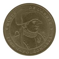 Monnaie De Paris , 2012 , Paris , Musée De L'Armée , Buste De Napoléon , Revers MDP-2 - Monnaie De Paris