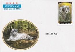 Aerogramme - 2005 White Tiger - Corea Del Norte