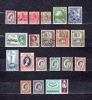 Grenada   1916-65  ,   Y&T  Nº   82-84/85-105-109-115-122-124-126-128-135-161-162/167-170-192 - Granada (...-1974)
