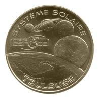 Monnaie De Paris , 2012 , Toulouse , Cité De L'Espace , Système Solaire Et Logo - Monnaie De Paris