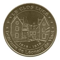 Monnaie De Paris , 2012 , Amboise , Clos Lucé , Demeure De Léonard De Vinci - Monnaie De Paris