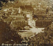 BRASOV 1941, KRONSTADT, Aerial View, Cenzura, Circulata Cu Timbru - Roumanie
