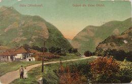 Baile CALIMANESTI Valcea 1908, Vedere Din Valea OLTULUI, Stampila TREN ! - Roumanie