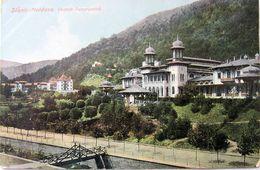 SLANIC MOLDOVA 1910, Vedere Panoramica, VILA Si Parcul, Necirculata - Roumanie