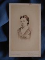 Photo CDV Ch. Jacotin à Paris - Portrait Nuage Jeune Femme, Second Empire Circa 1865 L419 - Photos