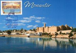 2017carte Maximum (le Ribat De Monastir) // 2017 Maximum Card (Le Ribat De Monastir) - Tunisie (1956-...)
