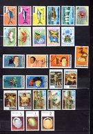 Grenada  1975  ,   Y&T  Nº   549/551-557/558-577/579-585/587-591/596-597/599-602-604/606-611/613 - Granada (...-1974)