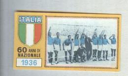 ITALIA CALCIO TEAM 1936..CALCIO ..MUNDIAL....SOCCER..WORLD CUP....FOOTBALL..FIFA - Trading Cards