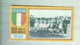 ITALIA CALCIO TEAM 1930....CALCIO ..MUNDIAL....SOCCER..WORLD CUP....FOOTBALL..FIFA - Trading Cards