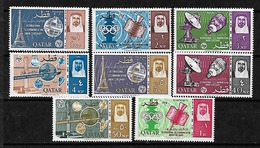 #510# QATAR MICHEL 64/71 MNH**. SPACE. - Qatar