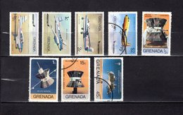 Grenada  1976  ,   Y&T  Nº   696/698-701-702/703-705/706 - Granada (...-1974)