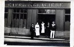91. ESSONNE - MONTGERON. Café De La Glacière (Qualité Photo). - Montgeron