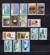 Grenada  1976-77  ,   Y&T  Nº   709/711-716/718-723/724-730/732-735/737-739-741 - Granada (...-1974)