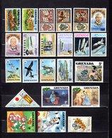 Grenada  1977-94  ,   Y&T  Nº   749/750-759/760-762-771/772-777/778-784/786-790/792-931-955-964-991-994-1543-1551-2475 - Granada (...-1974)