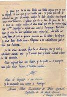 VP14.268 - MILITARIA - Commissariat Spécial De PERIGUEUX - Lettre De L'Inspecteur De Police Spéciale A. DORME à LIMOGES - Polizei