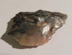 Joli Silex Taillé / Pointe Atérienne Sahara - Paléolithique Supérieur à Néolithique  - 6,5 X 4,7 Cm Environ / 32,7 Gr - Archéologie