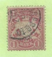 Timbre Allemagne - Anciens états - Bavière - Bayern N°37 - Cote 65,00 Euros - Bavaria