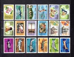 Grenada - Grenadina 1976  ,   Y&T  Nº   136-139-143-145-146/148-151/152-154-157/158-164/169 - Granada (...-1974)