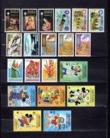 Grenada - Grenadina 1977-79  ,   Y&T  Nº   208/210-215/217-222-224-228/230-281/283-312/316-318 - Granada (...-1974)