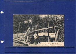 ##(ROYBOX1)-Postcards- Russia - Urals - Mining-  Used 1909 - Russie
