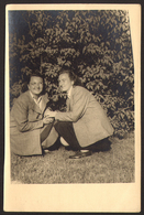 Two Pretty Girls Women Lesbian Ing Gay Old Photo 10x15 Cm #24454 - Personnes Anonymes