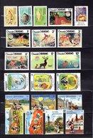 Grenada - Grenadina 1980-88  ,   Y&T  Nº   350-352-354-369/375-517-519-521-1194    (  +  7  Sellos  ) - Granada (...-1974)