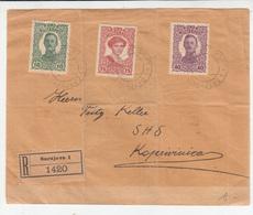 K.u.k. Bosnia, Letter Cover Registered Travelled 1918 Sarajevo To Koprivnica B190110 - Bosnie-Herzegovine