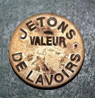 """Jeton De Nécessité De Lavandière Parisienne """"Jetons De Lavoirs - Valeur"""" Paris - Wash-house Token - Monetary / Of Necessity"""