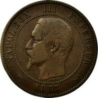 France, Jeton, Royal, Napoléon III, Visite à Lille, 1853, Barre, TB+, Cuivre - France