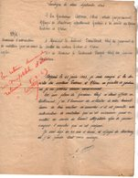 VP14.274 - MILITARIA - Guerre 39 / 45 - Lettre De L'Ex Gendarme DORME Réfugié Alsacien De STRASBOURG à LIMOGES - Polizei