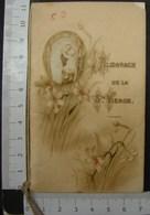 Calendrier. 19. Petit Almanach Ou Calendrier De La Sainte Vierge De 1908 - Petit Format : ...-1900