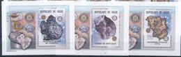Niger 2002 Minerals Mineraux Météorites Lions Club Rotary BF Luxe  MNH - Minéraux