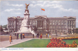 Postcard - London - Buckingham Palace - Posted 11-09-1956 - VG - Cartes Postales