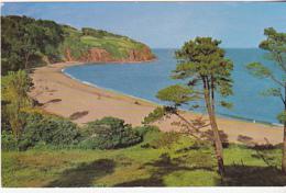 Postcard - Blaclpool Sands, Stoke Fleming, South Devon - VG - Cartes Postales