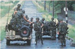 Postcard - US Troops In Granada - Card No. CL-RR.SER #79 SC18564 - VG - Cartes Postales
