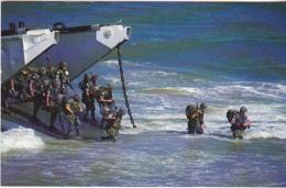 Postcard - US Troops Landing, West Beirut - Card No. CL-RR.SER #76 SC18561 - VG - Cartes Postales