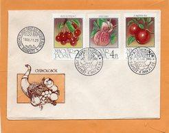 Hungary 1986 FDC - FDC