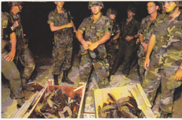Postcard - Small Part Of Large Cache Of Weapons Seized By US Troops - Card No. CL-RR.SER #81 SC18566 - VG - Cartes Postales