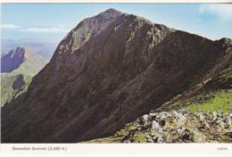 Postcard - Snowdon Summit (3,560 Ft) - Card No. S.0774 - VG - Cartes Postales