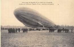 Lunéville - Atterrissage Du Zeppelin IV Le 3 Avril 1913 - Cecodi N'39 - Luneville
