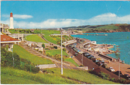 Postcard - The Hoe Terraces, Plymouth - Card No. PT1821 - Written On Rear, Not Posted - VG - Cartes Postales